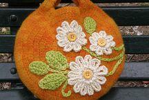 Crochet Bags/Purses /Hand Bags / by Aura Lipinski
