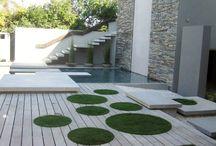 Tarasy, zielone dachy