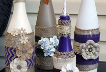 Decorate bottles