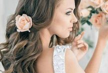 Wedding Hair and Makeup  / Ideas for beautification on the big day! :)