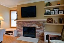 Fire Place Makeover ideas