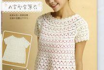 Crochet top,sweater,dress