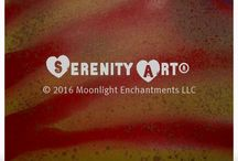 SERENITY ART® / Create an aura of serenity.  Serenity Art® by C.P. Zephta is incredibly beautiful, original, celestial art that is designed to draw peaceful, calming, relaxed energy to the person or area surrounding it. http://www.moonlightenchantments.com/SERENITYART.html / by Moonlight Enchantments LLC