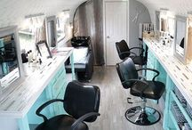 Ideas for Flirt & Flutter Beauty Bus / Inspired to bring mobile beauty services to a city near you!
