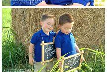 Twins 3Rd Birthday Photo Shoot