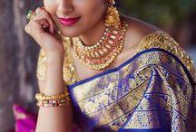 Beauté indienne et robe