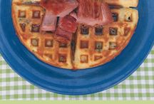 Waffles / Waffles & other things to make in a waffle iron