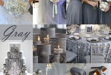 WEDDING PALLET GRAY & WHITE / PALETA DE BODAS