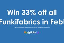 Your perfect fabric... /  We're holding a competition in the hope that we can find out what YOUR perfect fabric is - who knows? If you win, you could win 33% off all fabrics for the WHOLE of February!
