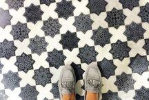 podłogi i ściany