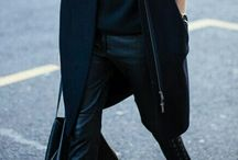 Total black / Fashion