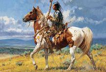 Nativi Americani / Immagini rappresentanti I nativi americani ieri e oggi