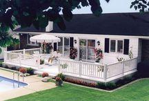 Garden deck/patio