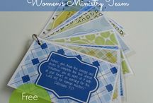 Women's Ministry Themes & Ideas / Ministry Themes, Ideas, Printables, and creative give-a-ways