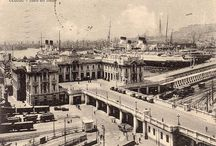 stazione maritima / -boarding gat for cruise ships in genua - station built 1930