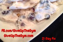 21 day fix recipes / by Jennifer McGinn