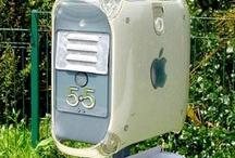 Repurposed Mailboxes
