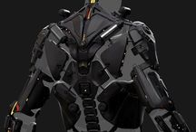 Sci-fi Body Armor