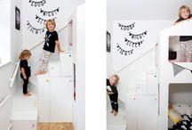 Interior kids room