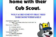 cub scouts / by Mary Morgan