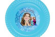 Karlar Ülkesi (Frozen) Doğum Günü Ürünleri / Karlar Ülkesi (Frozen) Kişiye Özel Parti Malzemeleri