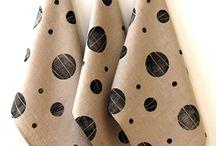 BZDesign : b l o c k  p r i n t e d / hand block printed linen textiles for the home by BZDesign