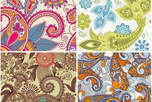 Fondos varios color