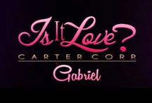 Is It Love? Carter Corp. / Pics from the famous otome game is it love? Gabriel & Matt. You can download them on Google play and Apple store