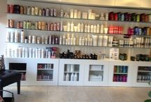 Revamped Salon / My goal was for the salon to be able to sell more product by making the product more visible. / by Shelly Brantner Stevens