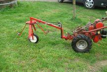kosačka traktorík