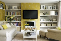 Organizing | Family TV Room / Where all the fun, movies and popcorn happens! / by Helena Alkhas