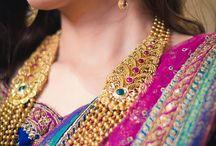Gold beads jewellery