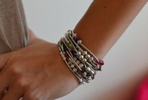 Bijoux perles / Quelques bijoux simples