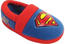 Superhero Shoes / These slick Superhero Shoes are perfect for any diehard comic fan looking for their own unique way to fight crime and battle villains.