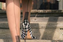Stockings, Tights, and Hold-ups / Beautiful fully fashioned stockings, seamed tights, hold-ups and more.
