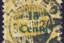 Stamps, Germany, Memel