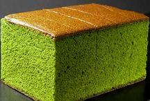 receipe green tea sponge cake