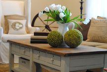 Salon stoly i ławy