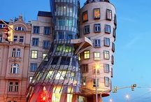 Häftiga byggnader