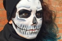JCI SKULL MAKEUP / Skull makeup done by JCI students!