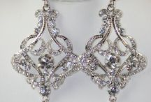 Bling it Up / Jewelry for the wedding day and for everyday wear.