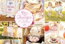 Tutus, Teacups, and Tiaras Party / by Jamie Swisher