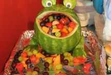 Frog bday party
