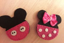 my felt brooches