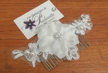 Accessoires de coiffure mariage - Bridal hair accessories