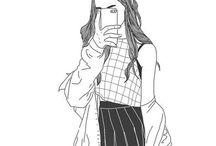 Teen Drawings