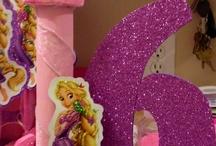 Compleanno Rapunzel / Addobbi