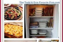 Freezer meals / Freezer meals / by Amanda Ranck
