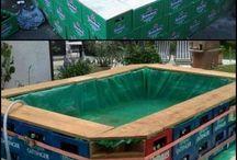 piscinas reciclável