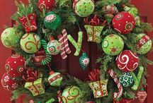 Christmas Wreaths / by Ashleigh Creech